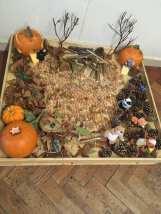 pumpkin fairy garden